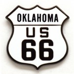 OK Route 66 Shield