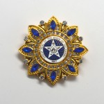 Gold Blue Seal Blue Stones Diamond